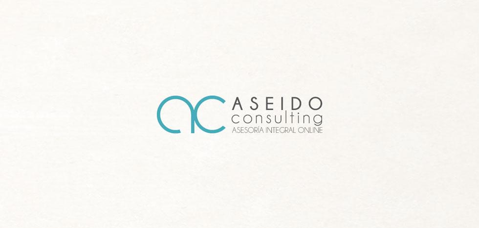 diseño logo aseido consulting