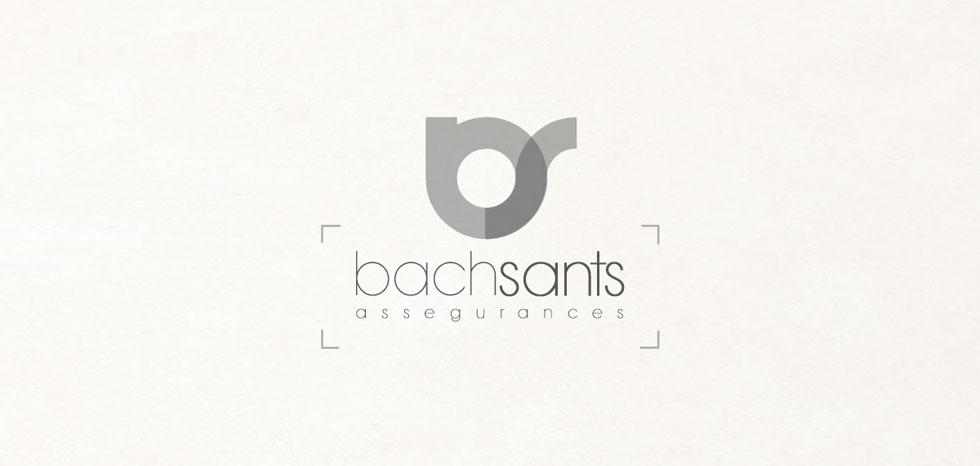diseño logo bachsants
