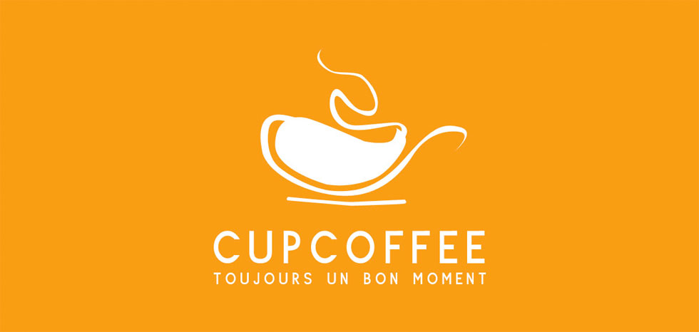 logotipos cup coffee