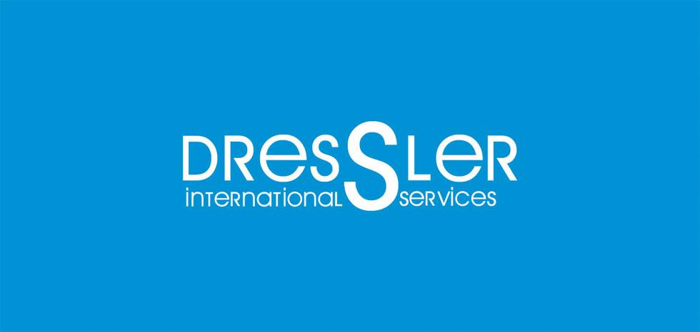 diseño logo dressler international service