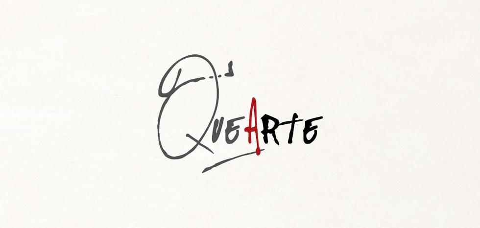 diseño logo quearte