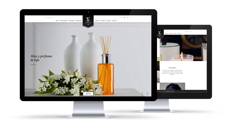 Lujo y buen Gusto diseño Web Barcelona