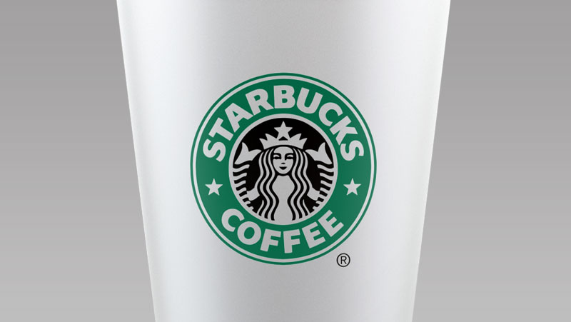 Mockup starbucks coffee