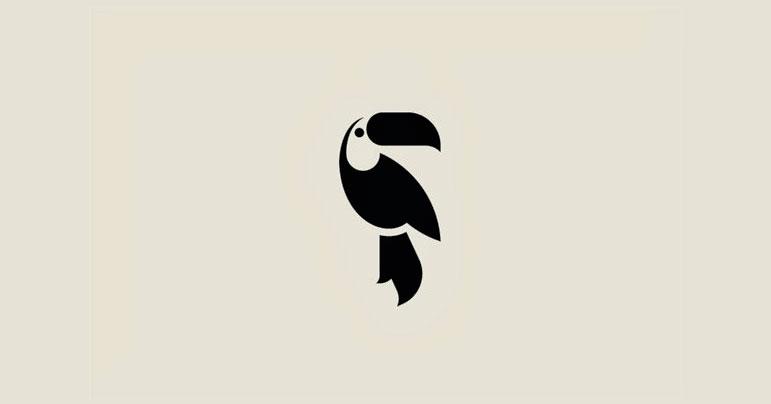 Diseño de logotipos negativos