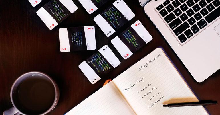Carta de Poker Programación
