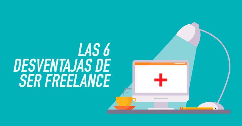 Desventajas de ser freelance