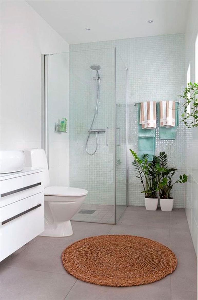 55 ideas de ba os geniales for Diseno de habitacion con bano y cocina