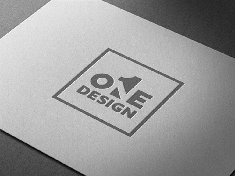 Diseño gráfico en espacio negativo