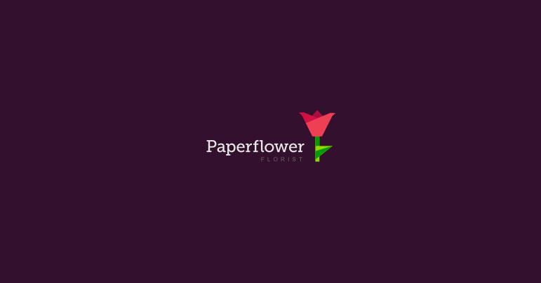 Diseño de logotipos de plantas y flores