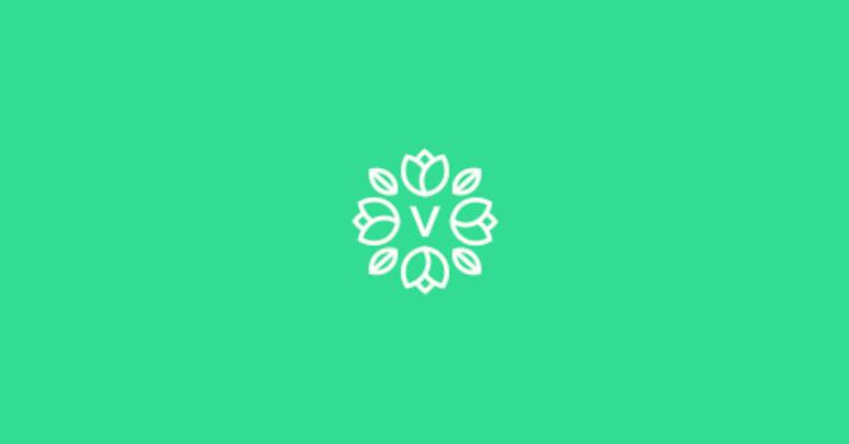 Diseño de logotipos plantas y flores