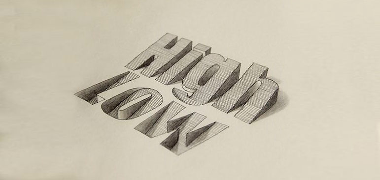 diseño carteles con tipografía