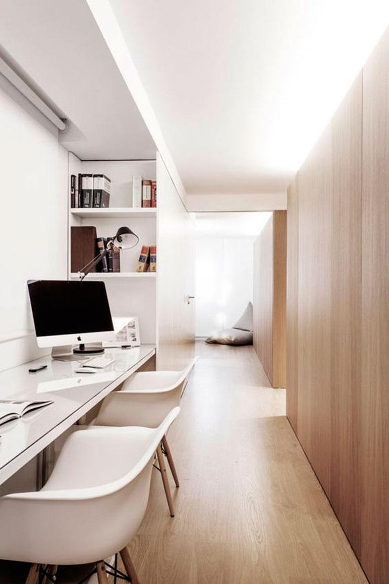 51 ideas de dise os de oficinas en casa for Disenos para oficinas