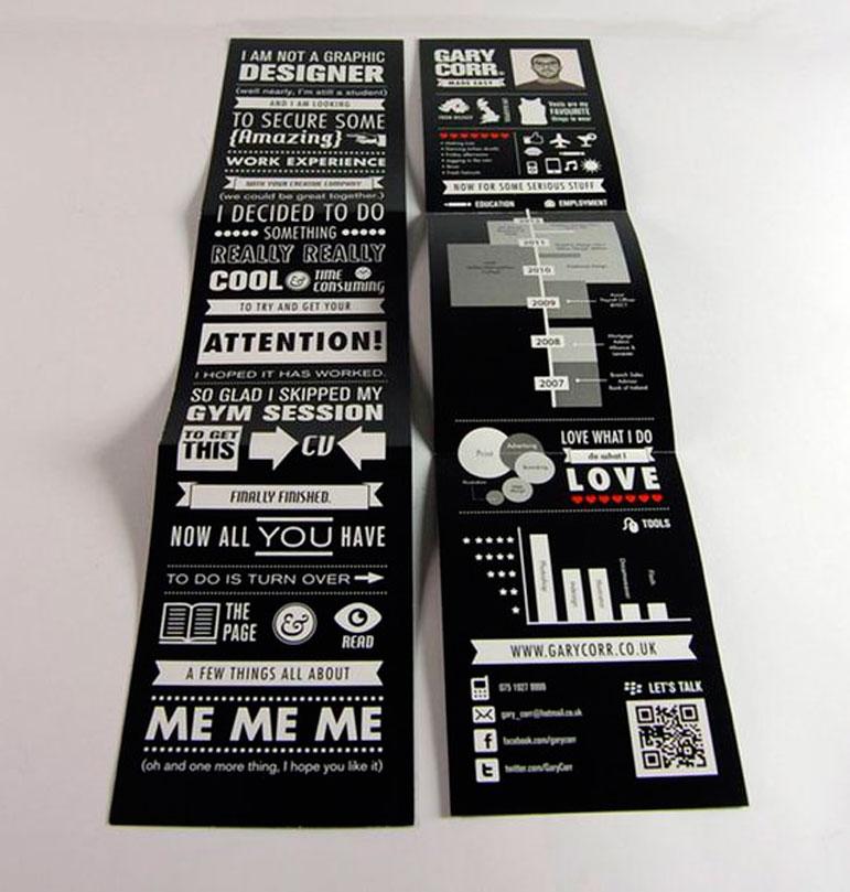 Graphic Designer Self Promotion Brochure Ideas