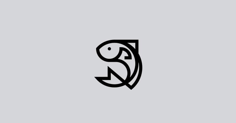 Diseño logotipos de pescados