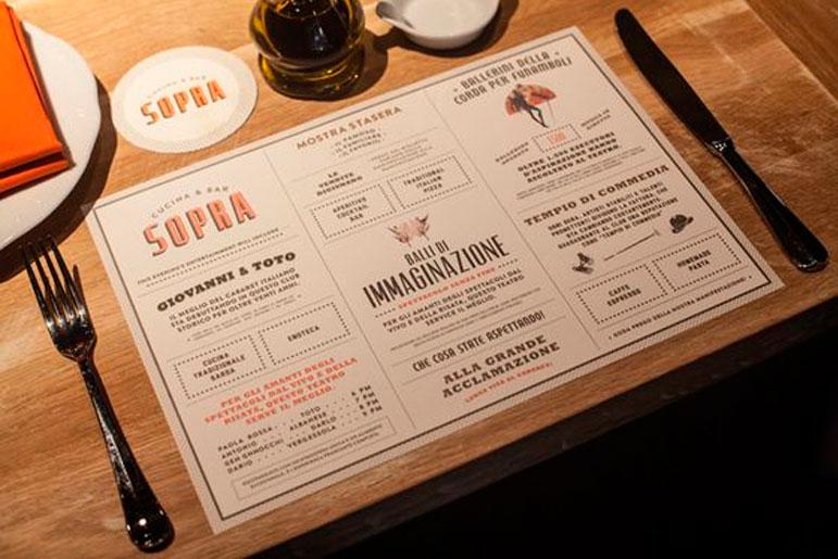 36 excelentes dise os de menus de restaurantes for Disenos de menus para restaurantes