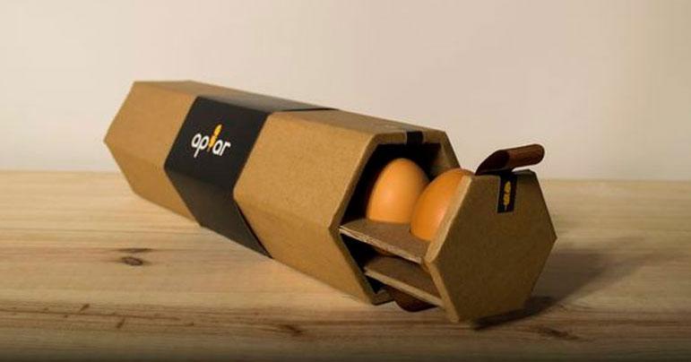 Diseño packaging de huevos