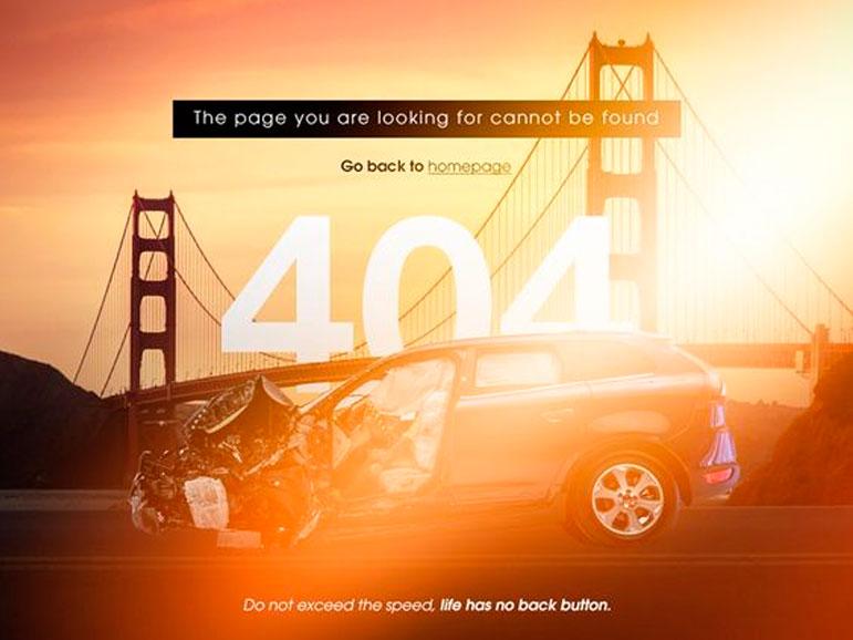 Diseño Página 404