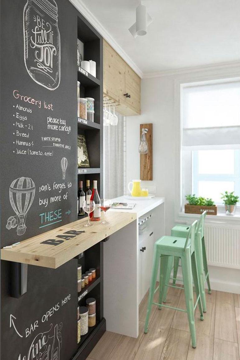 81 ideas de dise os de cocinas dise o de interiores for Disenos de cocinas pequenas con barra