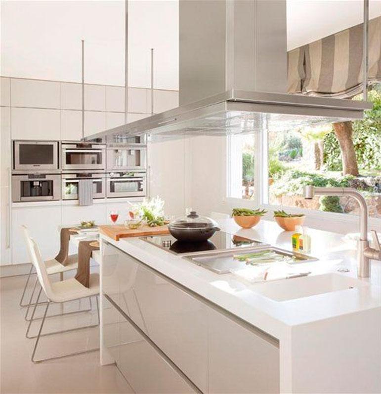 81 ideas de dise os de cocinas for Disenos de cocinas comedor modernas