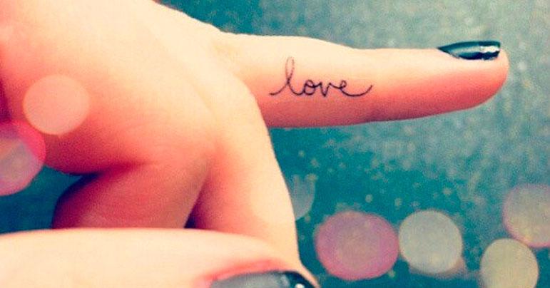 Diseño de tatuajes para dedos