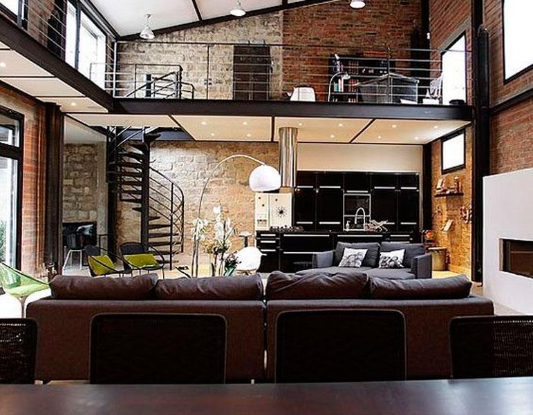 28 geniales ideas para decorar tu loft - Ideas para decorar un loft ...