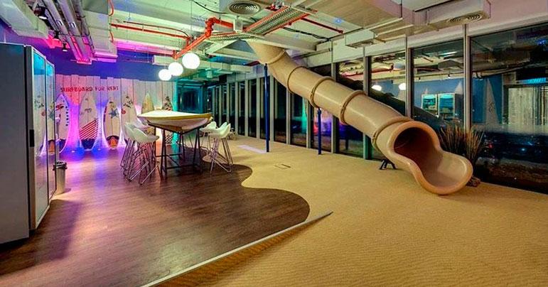 Espectaculares oficinas creativas