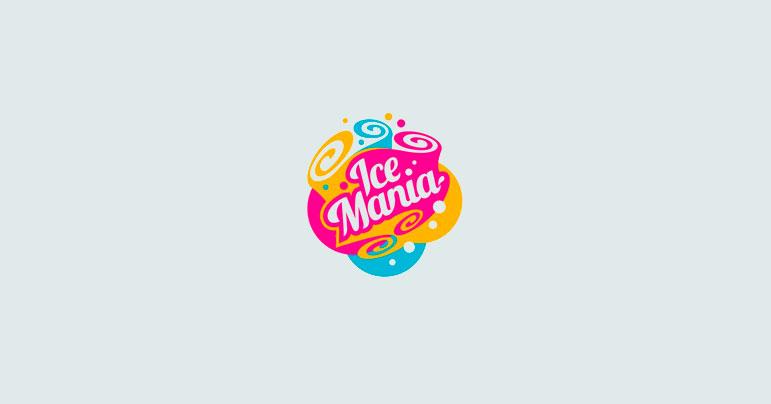 43 logos de helados - Diseño Web Barcelona
