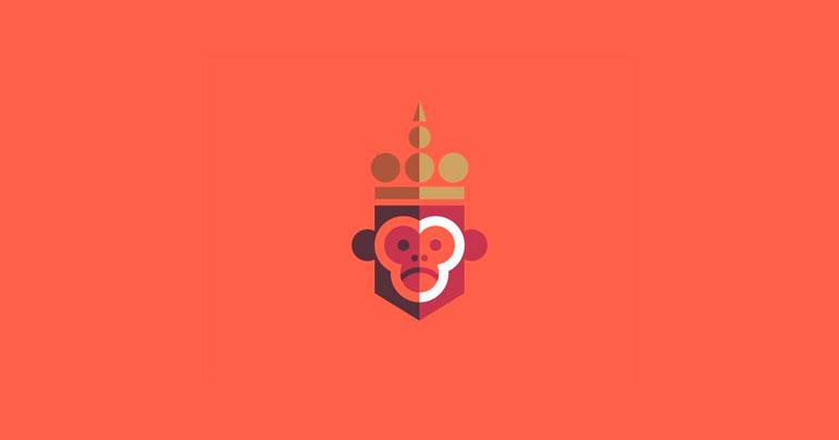 Logos de monos y gorilas