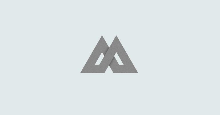 logos de montañas