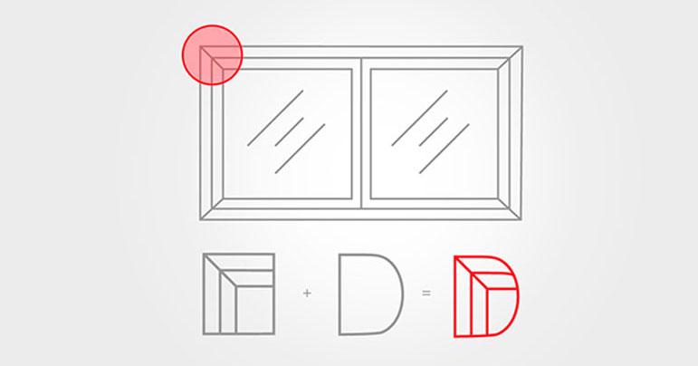 Otros ejemplos de proceso creativo de logos