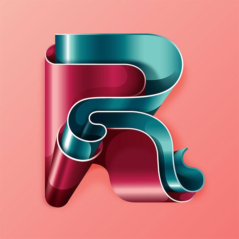 Tipografía surrealista