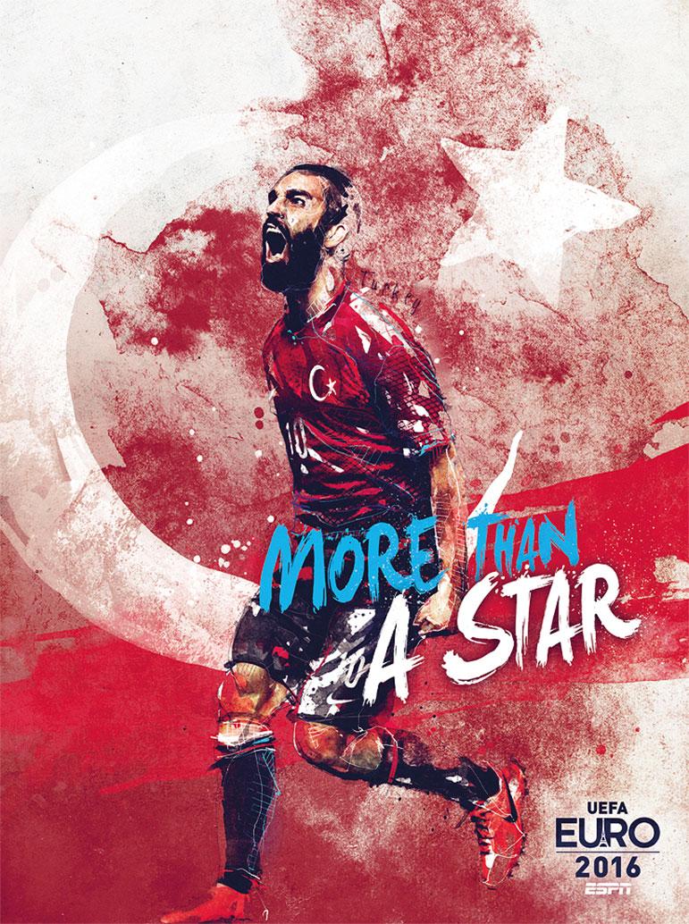 Diseño de carteles de la Eurocopa