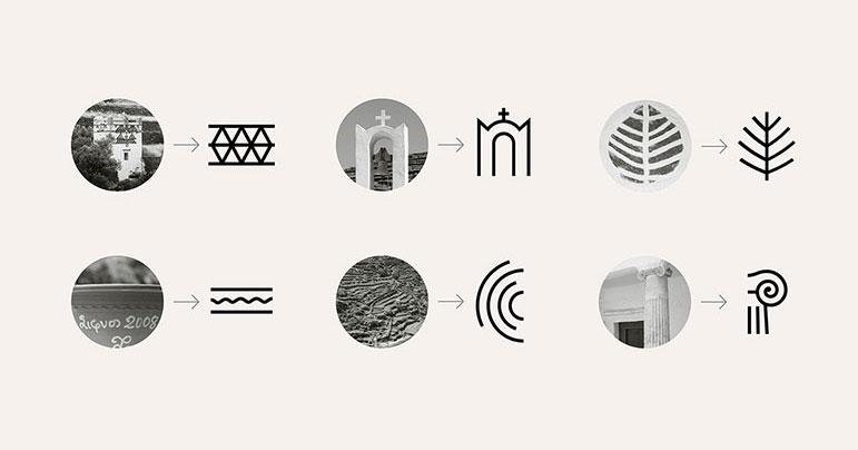 Proceso creativo de un logotipo