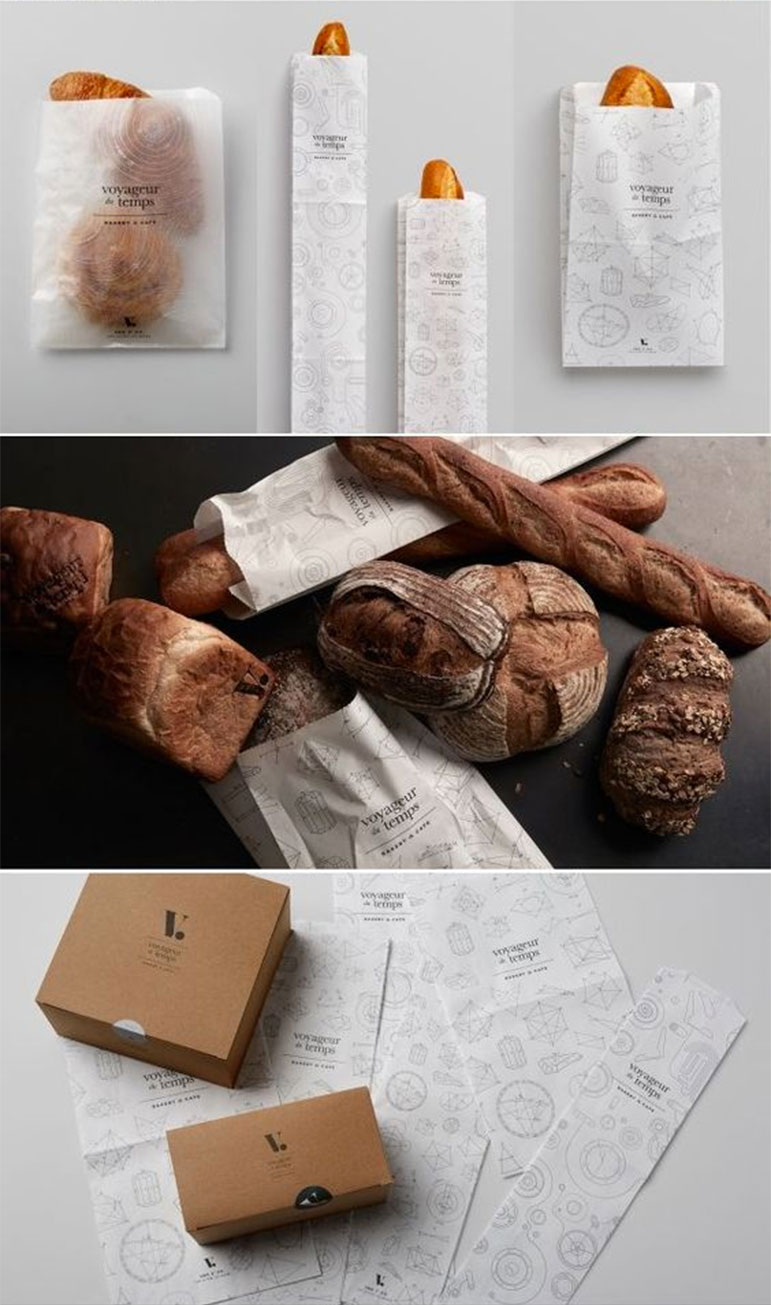Packaging de pan