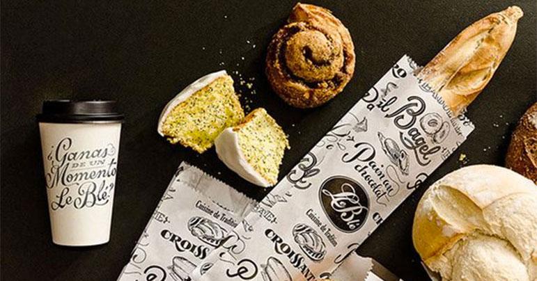 Packaging de pan