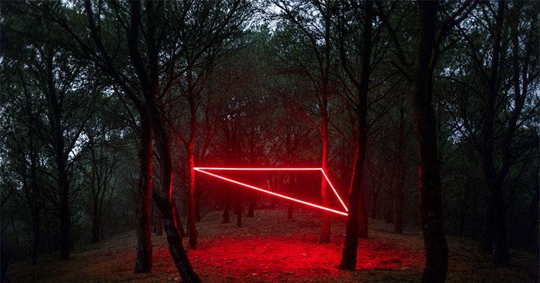 Fotografía la línea roja