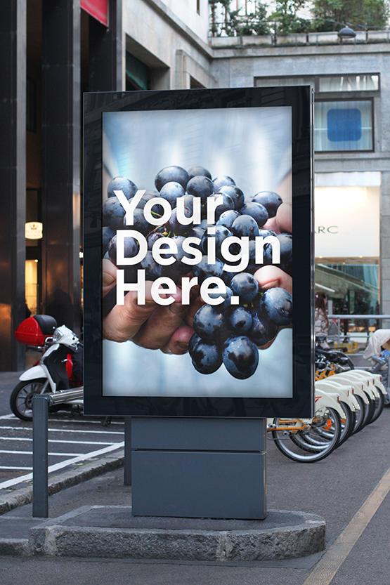 Mockup gratis billboard