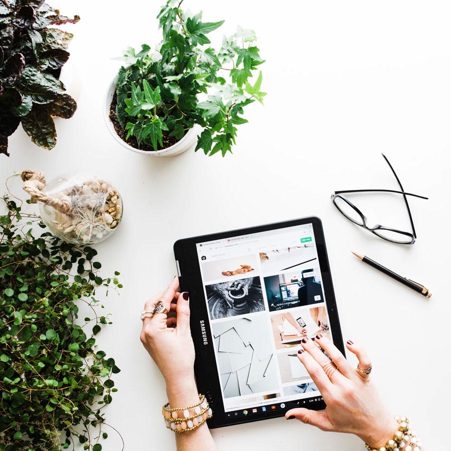 Diseño de la tienda online