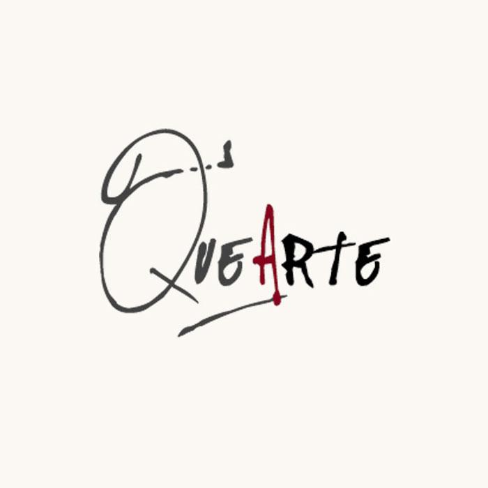 Diseño logotipo QueArte