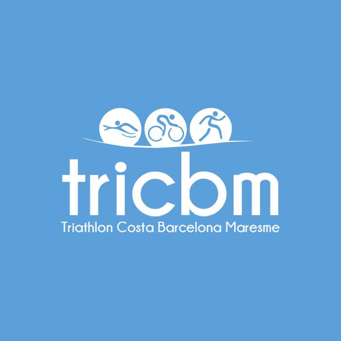 Diseño logotipo triahtlon Costa Barcelona