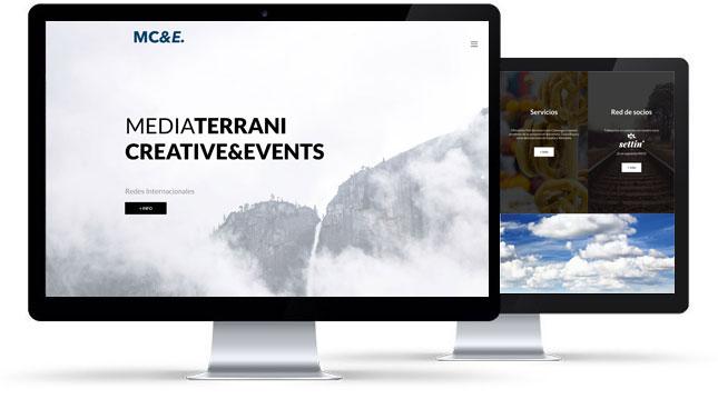 Diseño, programación y SEO Mediaterrani