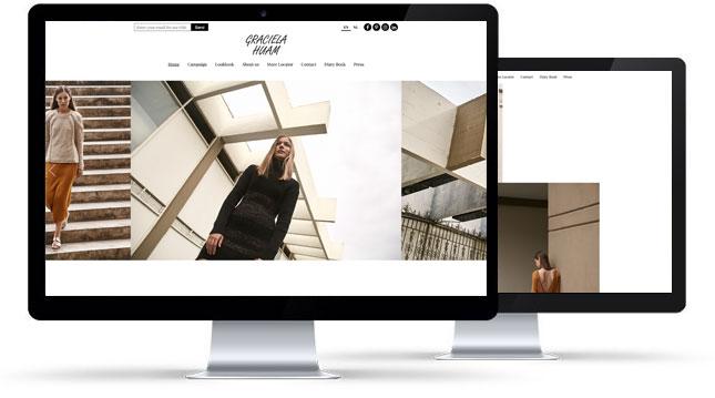 Página web Graciela Huam Holanda