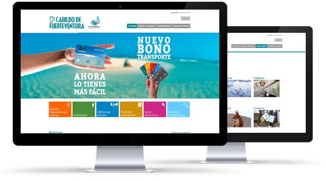 Presentación del proyecto de diseño y programación del Cabildo de Fuerteventura