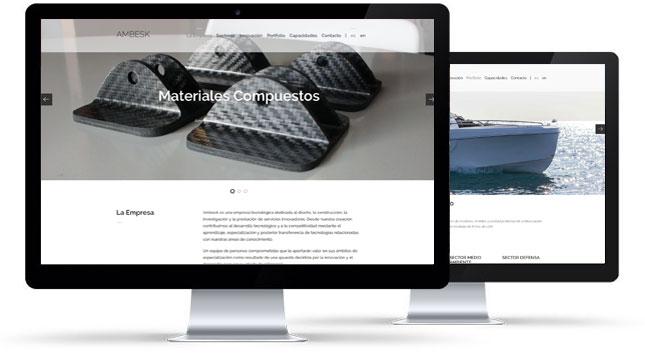 Programación y diseño web Barcelona Ambesk