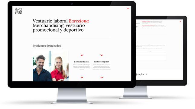 Web Masthrantoni y Posicionamiento SEO
