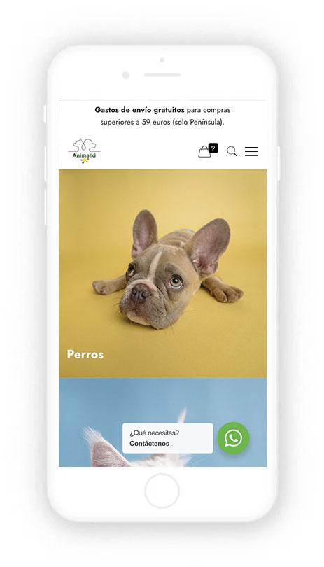 Posicionamiento Web comida de perros